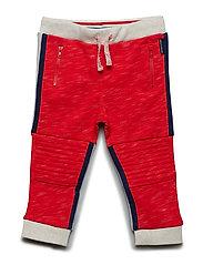 Trousers jersey Solid Preschool - FLAME SCARLET