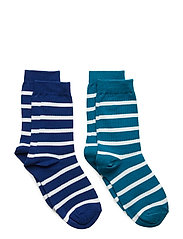 Socks 2P PO.P Stripe School