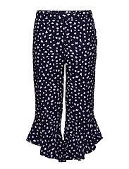 Trousers AOP School - MEDIEVAL BLUE