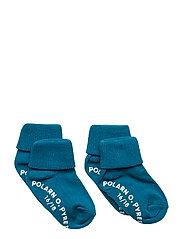 Sock 2-Pack Solid Preschool - OCEANS DEPTHS
