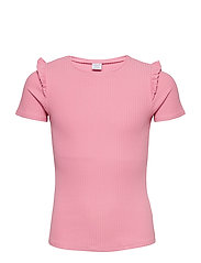 Top S/S Solid School - SACHET PINK