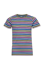 T-Shirt striped S/S striped School