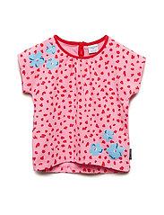Top S/S  print Preschool - SACHET PINK
