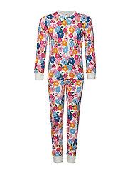 Pyjamas L/S AOP School - SACHET PINK