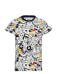 T-shirt s/s School - BLACK