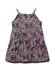 Dress AOP Preschool - MEDIEVAL BLUE