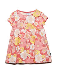 Dress AOP Pre-School - SALMON ROSE