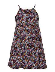 Dress AOP School - MEDIEVAL BLUE