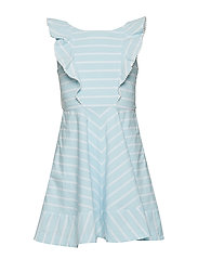 Dress Striped School - COOL BLUE