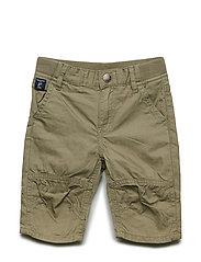 Shorts woven solid Pre school - DEEP LICHEN GREEN