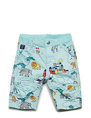 Shorts Woven AOP Preschool - AQUA HAZE