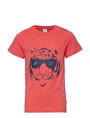 T-shirt s/s Frontprint School
