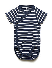 Body Wrapover PO.P Stripe Baby - MOOD INDIGO