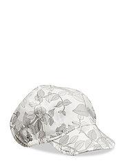 Cap AOP Baby - SNOW WHITE