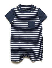 Overall PO.P Stripe Baby - MOOD INDIGO