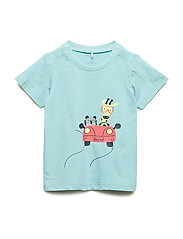 T-shirt S/S Baby - AQUA HAZE