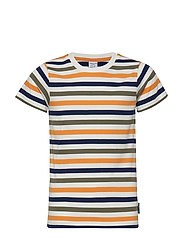 T-shirt S/S Striped School