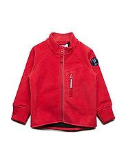 Jacket Windfleece Solid Preschool - RIBBON RED