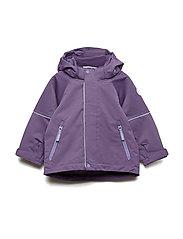 Jacket Shell Solid Preschool - LOGANBERRY