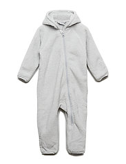 Overall Pile Solid Baby - GLACIER GRAY