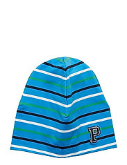 Cap Multi Stripe Preschool - FRENCH BLUE