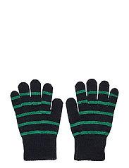 Glove Wool PO.P Stripe School - DARK SAPPHIRE