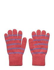 Glove Wool PO.P Stripe School - FRUIT DOVE