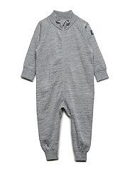 Overall Solid Wool Baby - GREYMELANGE