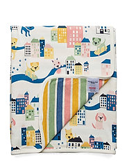 Blanket AOP Baby - EGRET