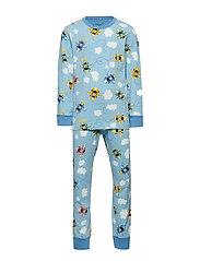 Pyjamas AOP School - DUSK BLUE