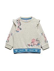 Sweatshirt Preschool - ECRU MELANGE