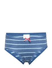 Girl Brief Striped School - BLUEMELANGE
