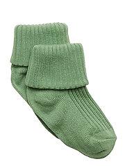 Sock Solid Baby - ASPEN GREEN
