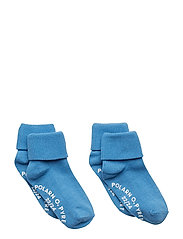 Socks 2-Pack Solid Preschool - PARISIAN BLUE