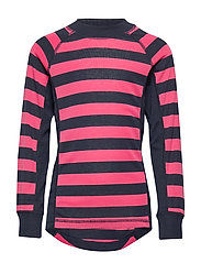 Polarn O. Pyret Sweater Polyester Solid School - FRUIT DOVE