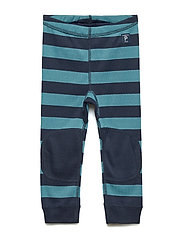 Polarn O. Pyret Long Johns Polyester  PreSchool - STORM BLUE