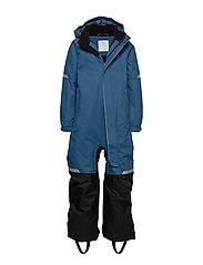 Overall Padded Solid Preschool - DARK BLUE