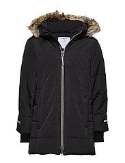 Jacket Padded School - BLACK