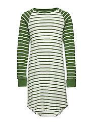 Nightdress l/s Striped School - WILLOW BOUGH