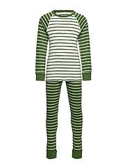 Pyjamas Striped School - WILLOW BOUGH