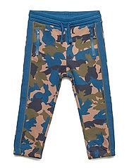 Polarn O. Pyret Trousers Jersey AOP Preschool - GIBRALTAR SEA