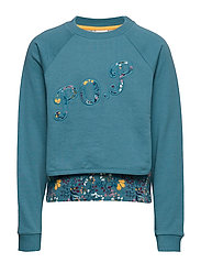 Sweater l/s  detail School - STORM BLUE