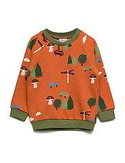 Sweater W APO Preschool - BURNT BRICK
