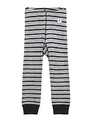 Long Johns Wool Striped Pre-shool - GREYMELANGE