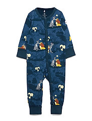 Pyjamas AOP Baby - DARK BLUE