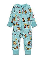 Pyjamas AOP Baby - MARINE BLUE