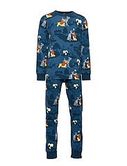 Pyjamas AOP Preschool - DARK BLUE