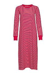 Nightdress L/S PO.P Striped Adult - SKI PATROL
