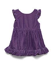 Dress solid Preschool - LOGANBERRY