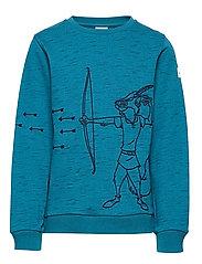 Sweater l/s applique School - CELESTIAL